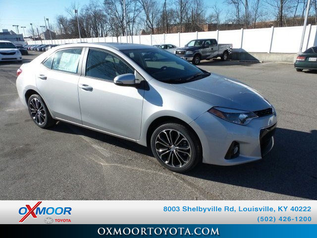 New 2015 Toyota Corolla S Plus